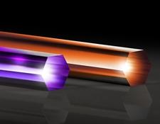 Fused Silica Light Pipe Homogenizing Rods