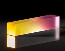 3 x 3 x 15mm, 1064nm NCPM SHG, LBO Nonlinear Crystal, #11-172