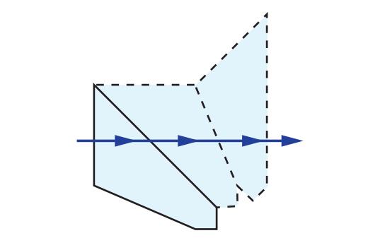 Half-Penta Prism Tunnel Diagram