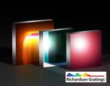 Richardson Gratings™ High Precision Plane Reflective Gold Diffraction Gratings