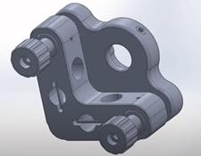 #15-865, 12.5/12.7mm Optic Dia., E-Series Kinematic Mount
